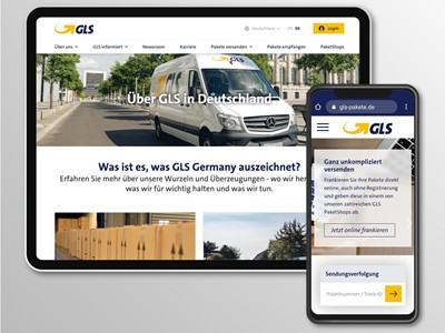 Relaunch der GLS Germany Website