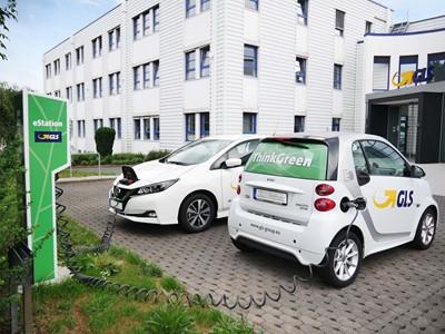 GLS installiert Ladestationen für eFahrzeuge in Neuenstein