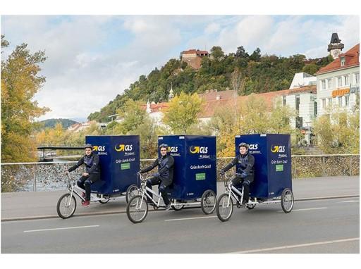 GLS eröffnet Lastenrad-Depot in Graz (1)