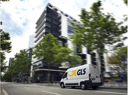 GLS Spain Zustellfahrzeug