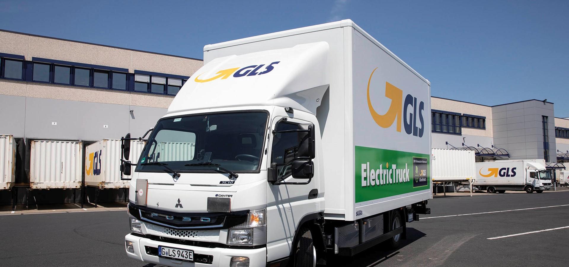 GLS setzt eLkw als City-Shuttle ein