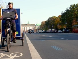 City-Logistik - eBike-Fahrt Brandenburger Tor 2