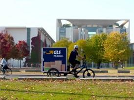 City-Logistik - eBike-Fahrt Kanzleramt