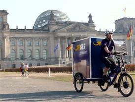 City-Logistik - eBike-Fahrt Reichstag 1