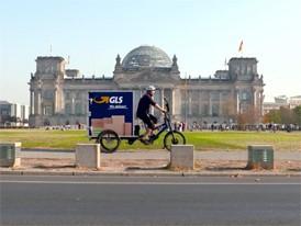 City-Logistik - eBike-Fahrt Reichstag 2