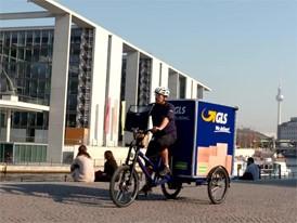 City-Logistik - eBike-Fahrt Spreeufer 2