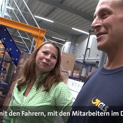 Frauenpower: Transportmanagerin Corinna im Depot Schaafheim