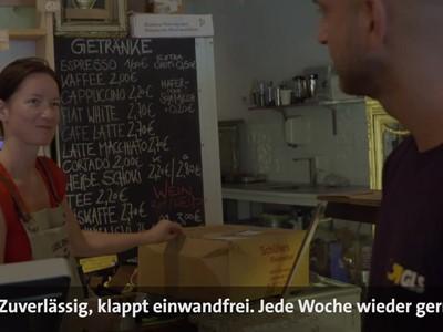 Unterwegs mit GLS-Zustellfahrer Serhat aus Berlin