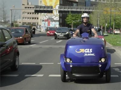 eMobilität bei GLS