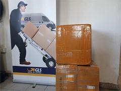 La Sede GLS di Latina trasporta gratuitamente le mascherine donate dalla Comunità Cinese