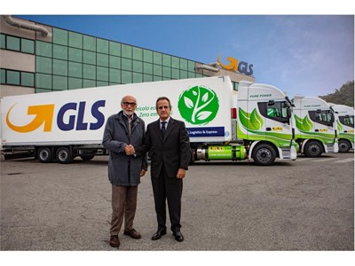GLS punta sul green anche per le grandi distanze potenziando la propria flotta di mezzi di linea ali