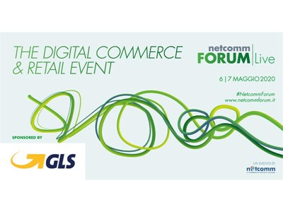 GLS partecipa a Netcomm Forum Live 2020: la prima fiera digitale dedicata all'e-commerce