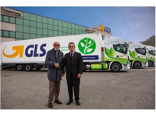 Emilio Mondelli, Presidente di T&TI Cargo Line Srl e Francesco Pellerano, General Manager di GLS Italy S.p.A.