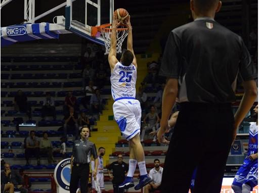 GLS official sponsor di maglia del Napoli Basket