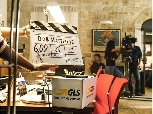 Backstage GLS in Don Matteo 12