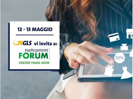 GLS partecipa a Netcomm Forum Extended 2021