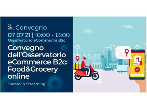"""GLS parteciperà all'evento di settore """"Food & Grocery: la pandemia rallenta, l'ecommerce cresce!"""""""