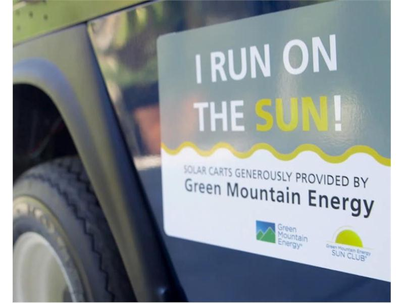 thenewsmarket com : Solar-Powered Golf Carts