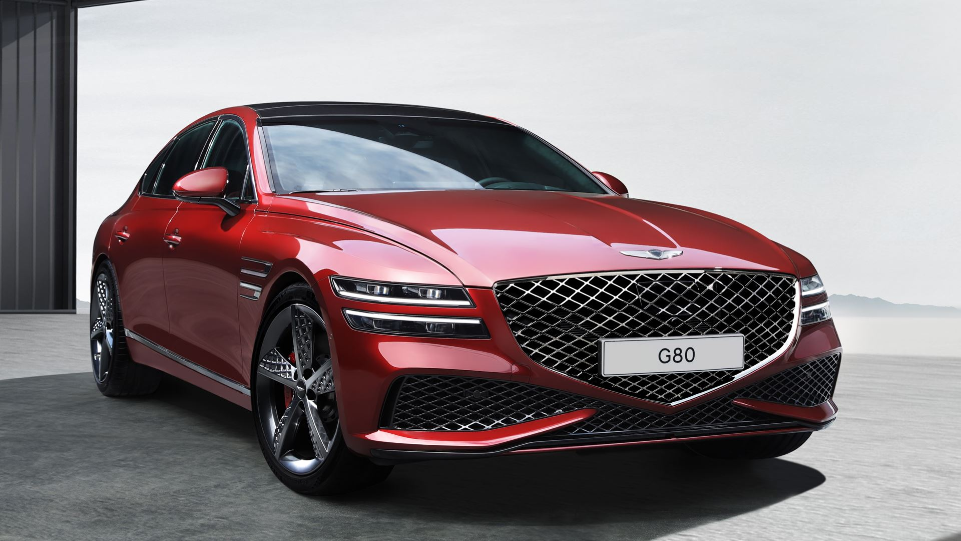 GENESIS UNVEILS IMAGES OF THE G80 SPORT