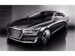 'New Luxury' Takes Shape - Hyundai Motor Unveils Rendering of New G90