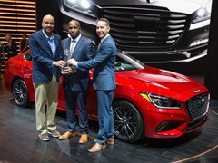 GENESIS G80 WINS ALG'S 2018 RESIDUAL VALUE AWARD IN COMPETITIVE PREMIUM FULLSIZE SEGMENT