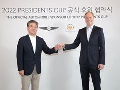 LUXURY CAR BRAND GENESIS ANNOUNCED AS OFFICIAL AUTOMOBILE SPONSOR OF THE PRESIDENTS CUP
