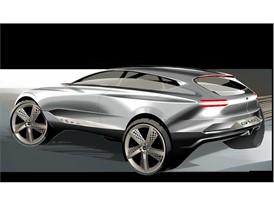 GV80 Concept Rendering (Exterior - Rear)