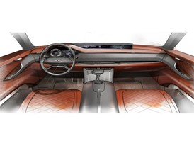 GV80 Concept Rendering (Interior - IP)