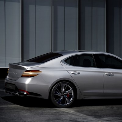 THE NEW G70 EXTERIOR