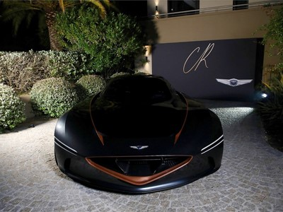GENESIS ESSENTIA MAKES APPEARANCE AT CANNES
