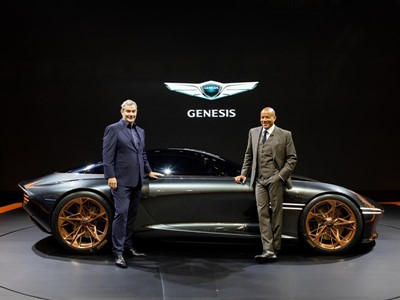 GENESIS SHOWCASES ESSENTIA CONCEPT AT THE BUSAN INTERNATIONAL MOTOR SHOW