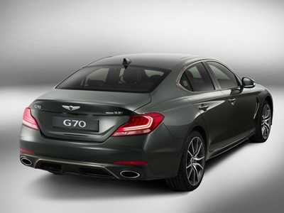 2019 GENESIS G70 AND ESSENTIA CONCEPT NAMED GOOD DESIGN AWARD WINNERS