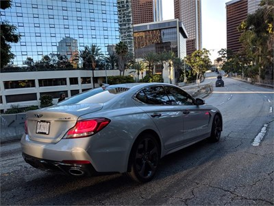 """GENESIS G70 SHOWS OFF ITS MANEUVERABILITY AND AGILITY IN THE FINAL """"ART OF THE STUNT"""" VIDEO"""