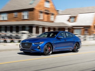 GENESIS G70 NAMED TOP ASPIRATIONAL LUXURY CAR IN AUTOPACIFIC 2019 IDEAL VEHICLE AWARDS