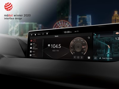 RED DOT - GENESIS INFOTAINMENT SYSTEM