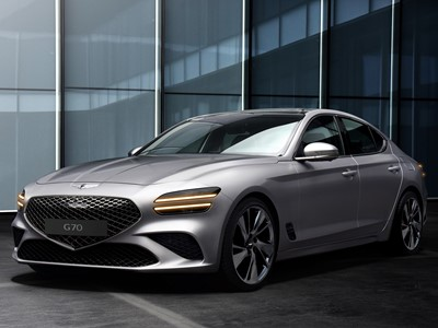 "GENESIS UNVEILS THE NEW GENESIS G70, EFFECTING FULL ALIGNMENT OF ""ATHLETIC ELEGANCE"" INSPIRED LUXURY"