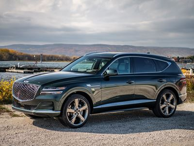 GENESIS GV80 NAMED 2021 CANADIAN UTILITY VEHICLE OF THE YEAR