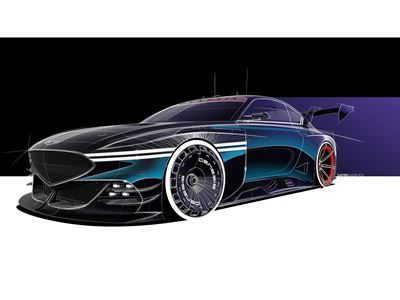 GENESIS PREVIEWS MOTORSPORT CONCEPTS DESIGNED IN COLLABORATION WITH GRAN TURISMO VIDEO GAME SERIES