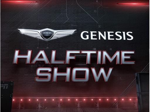 GENESIS HALFTIME SHOW