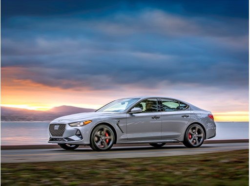 THE 2019 GENESIS G70 LUXURY SPORT SEDAN