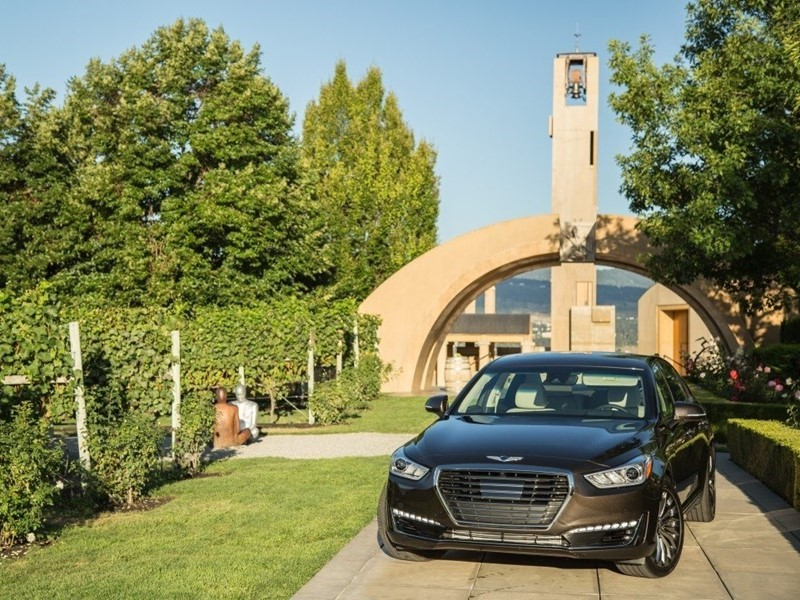 2017 Genesis G90 Earns Insurance Institute for Highway <b>Safety</b> Top ...