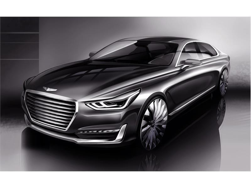 Genesis Media Center : 'New Luxury' Takes Shape - Hyundai Motor ...