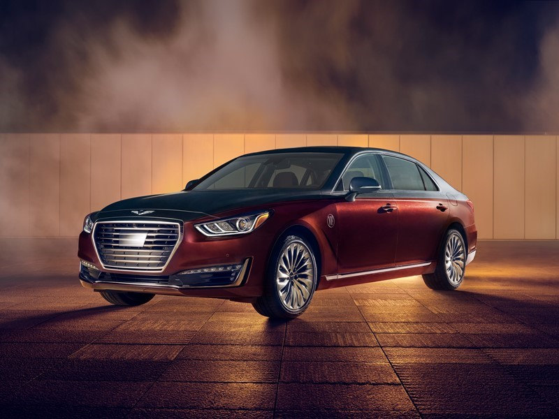 genesis arrives in character with ten special-edition <b>g90</b> sedans for ...