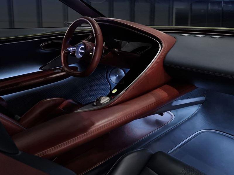 Genesis X Concept Interior