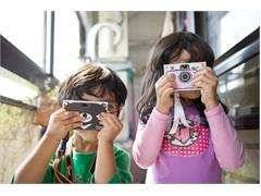 The World's Only Paper Camera Designed Specifically for Kids