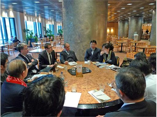GTPO's round table meeting with international green experts, London, Mar 2012