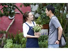 "Movie ""Seed"" leading actress Sonia Sui, leading actor Tony Yang"