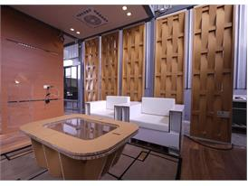 All furniture in the Eco-Cubic is made out of paper and 100% eco-friendly