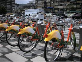u-bike uses an electronic unmanned automated management system to provide 'A leases and B Returns' bike rental service