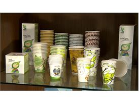 Eco-friendly paper cups developed by WEI MON